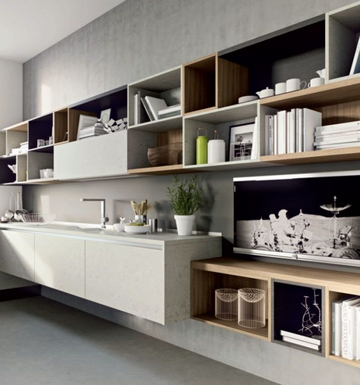 Кухня LAMINA  -  Record Cucine system collection-16