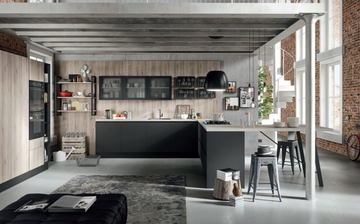 Кухня  URBAN  -  Record Cucine system collection-17