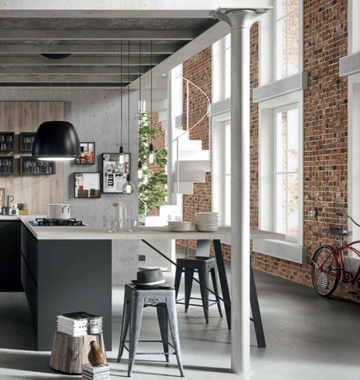 Кухня  URBAN  -  Record Cucine system collection-2