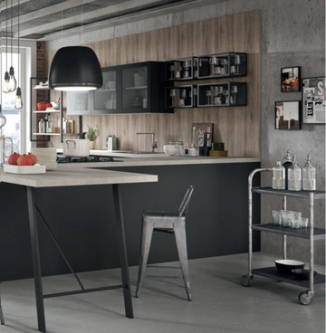 Кухня  URBAN  -  Record Cucine system collection-6