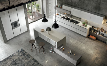 Кухня  URBAN  -  Record Cucine system collection-19