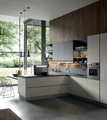 Кухня  URBAN  -  Record Cucine system collection-10
