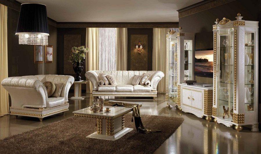 Классическая итальянская мебель для гостиной, итальянская мягкая мебель для