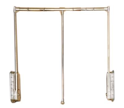 Итальянская штанга-вешалка для распашного шкафа vela camelgr.